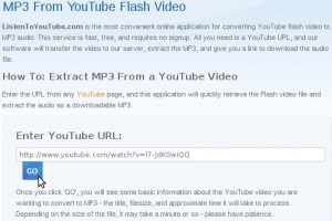 Convertire video youtube in mp3