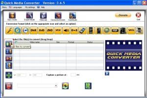Convertire video con Quick media converter