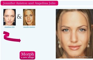 Effetto morphing online, unire due volti