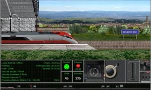 Guidare il treno eurostar online