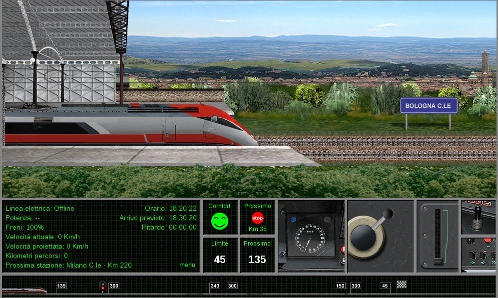 Guidare il treno eurostar online for Simulatore di costruzione di case online