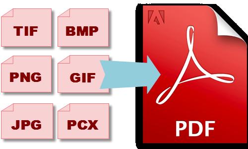 convertire immagini pdf