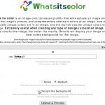 Come conoscere il codice esadecimale dei colori presenti in una foto, immagine online con Whatsitscolor