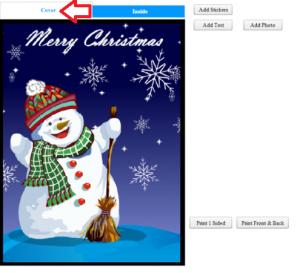 Creare cartoline auguri per Natale