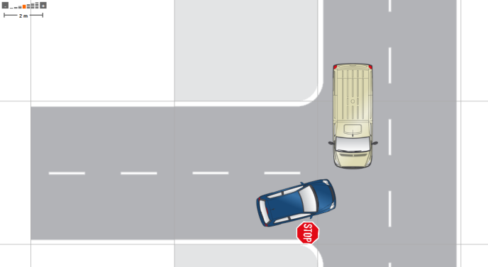 disegnare incidente online