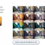Applicare 40 effetti speciali alle immagini online gratis