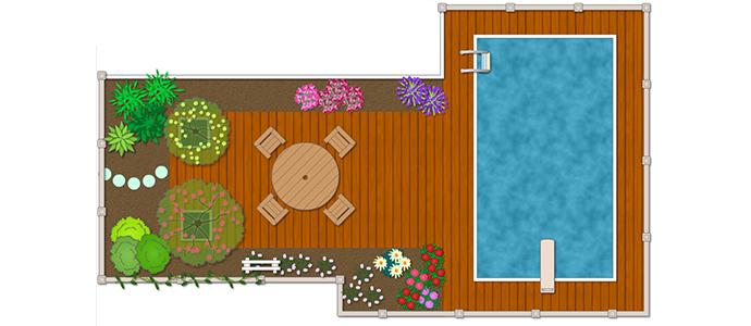 Creare un giardino fai da te online for Progettare giardini online