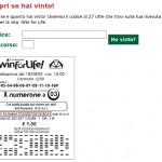 Come controllare la schedina Win for Life online