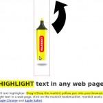 Sottolineare una pagina web con l'evidenziatore virtuale