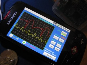 Trasformare Android in un oscilloscopio