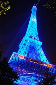 Luci della Torre Eiffel