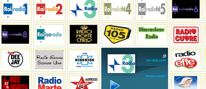 ascoltare radio streaming