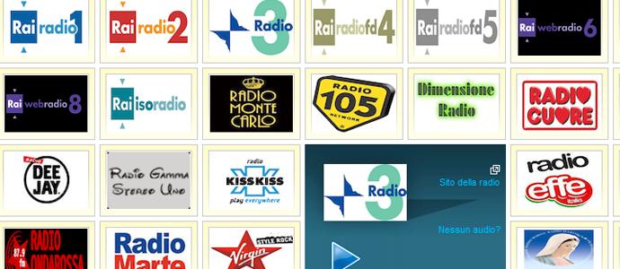 ascoltare radio streaming