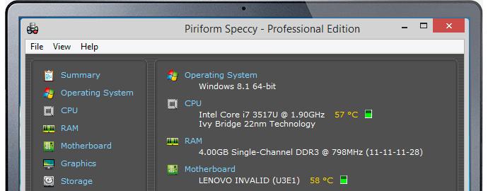 caratteristiche hardware pc