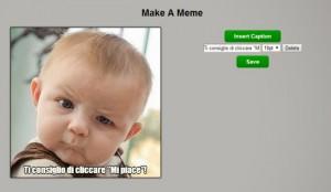 Creare meme online