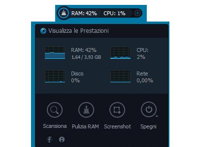 widget cpu ram