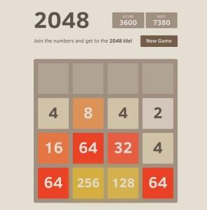 Gioca a 2048 per allenare la tua mente