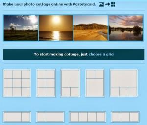 Creare collage fotografico