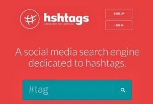 Motore di ricerca hashtag