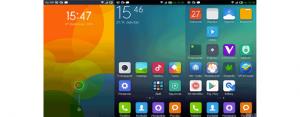 Trasformare la grafica Android in MIUI