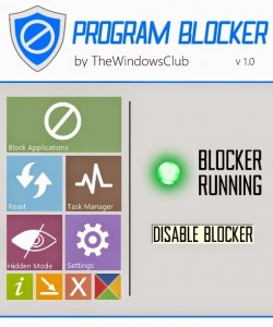Bloccare programma su Windows
