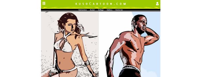 foto in cartone animato