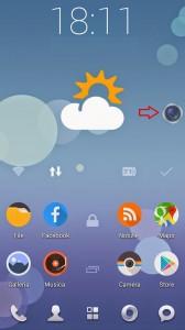 Scattare foto veloci su Android