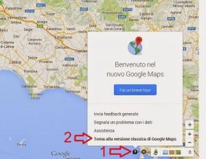 Google Maps vecchio