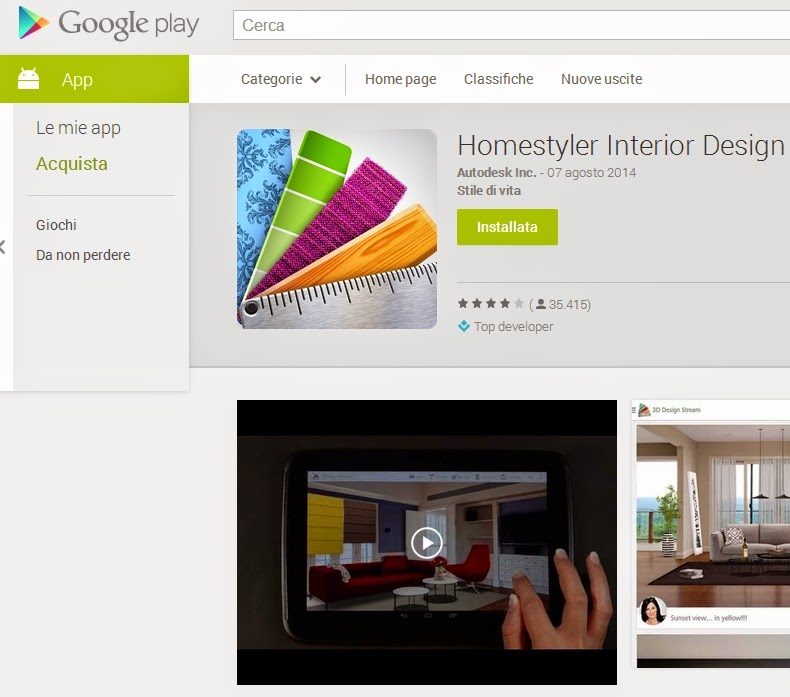 Come arredare e personalizzare la casa su android for Homestyler login