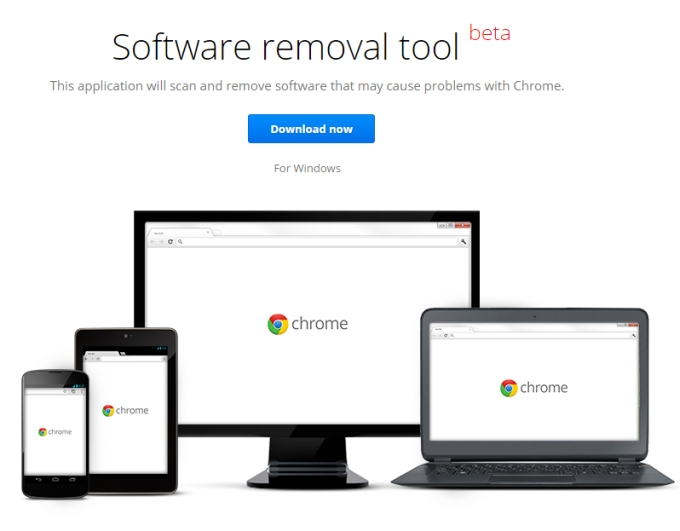 Rimuovere software dannoso per Google Chrome