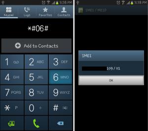 Modulo blocco IMEI: come bloccare un cellulare smarrito o rubato
