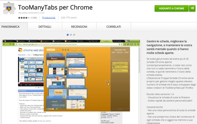 Migliorare google chrome