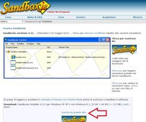 Guida e download Sandboxie italiano: software di sicurezza Windows