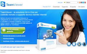 Software per controllo remoto PC Windows: TeamViewer gratis