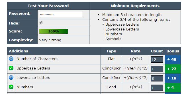 test password online