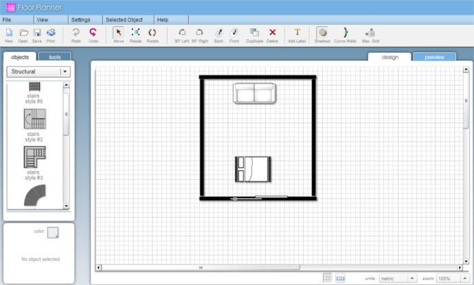 Progettare casa online gratis arredare l 39 appartamento for Programma per disegnare mobili