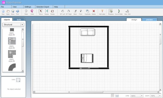 Piantina abitazione for Progetta casa in 3d online