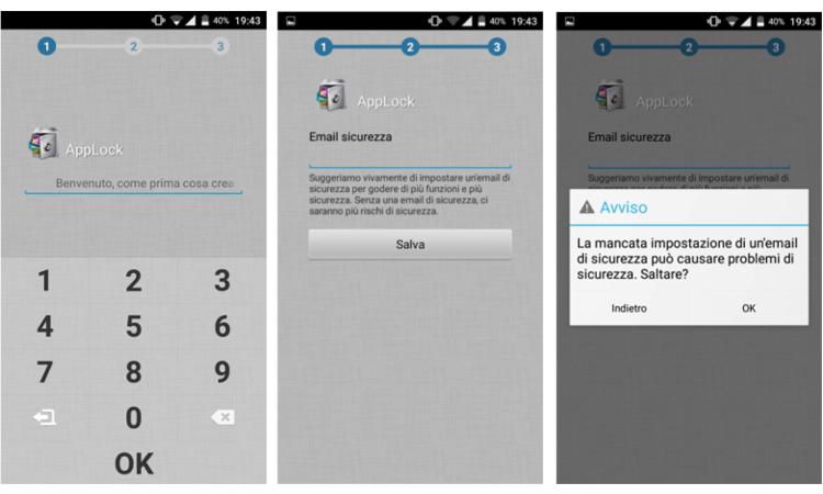 proteggere applicazioni android