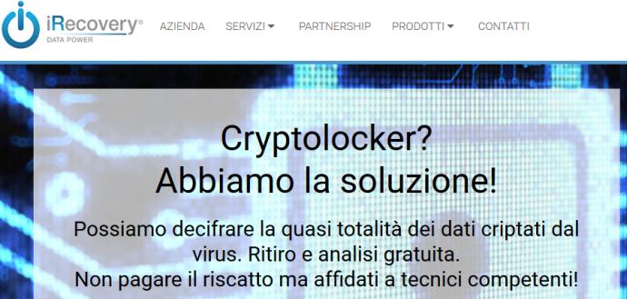 recupero file cryptoloker