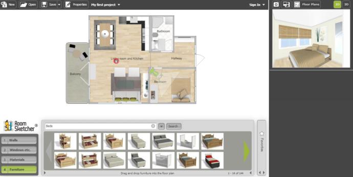 Progettare casa online gratis arredare l 39 appartamento for Programmi per progettare oggetti