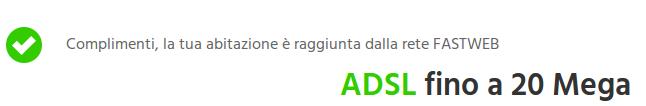 adsl fastweb
