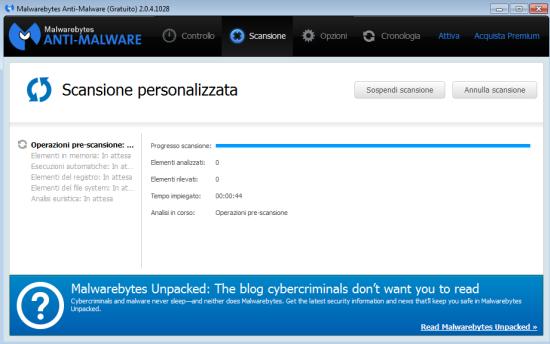 scaricare Malwarebytes italiano