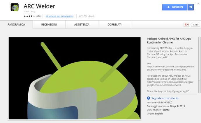 applicazioni android su windows