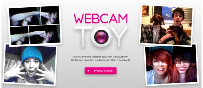 webcam effetti online