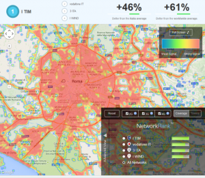 Verificare copertura segnale operatori mobili