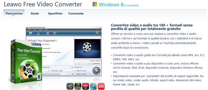 chat con web programma per convertire video