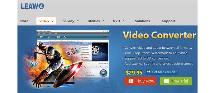 trasforma video converter