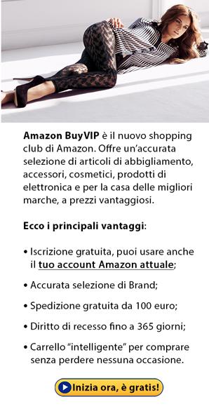 Scopri le imperdibili offerte da Amazon BuyVIP!