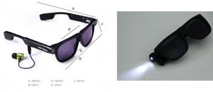 occhiali spia camera