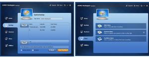 Software per backup applicazioni e Windows